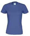 Cottover T-shirt Lady blauw M