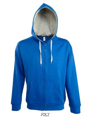 SOL´S - Contrasted Zipped Hooded Jacket Soul Men