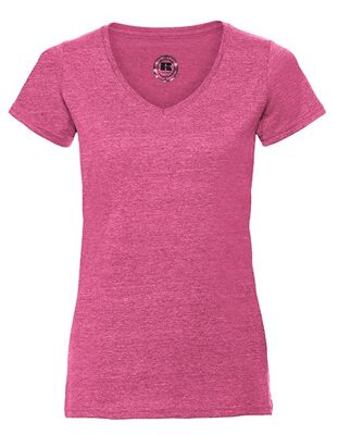 Russell - Ladies` V-Neck HD T