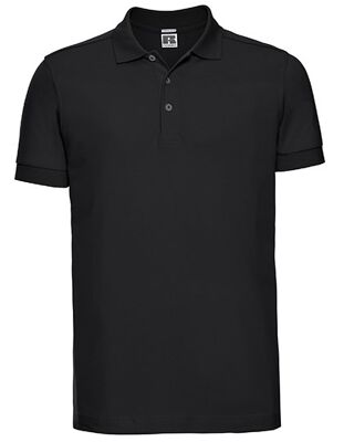 Russell - Men`s Fitted Stretch Polo