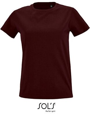 SOL´S - Women`s Round Neck Fitted T-Shirt Imperial
