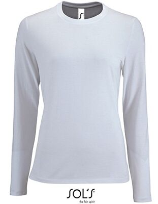 SOL´S - Women`s Long-Sleeve T-Shirt Imperial
