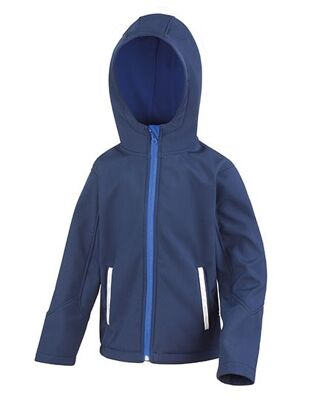 Result Core - Junior Hooded Soft Shell Jacket